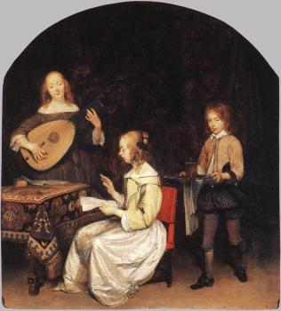 Gerard Ter Borch : The Concert